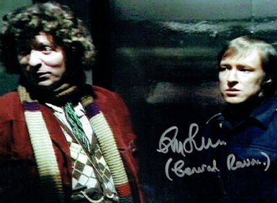 Guy Siner Autograph Signed Doctor Who - Genesis of the Daleks